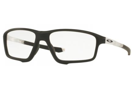 Lunettes de vue pour homme OAKLEY Noir Mat OX 8076 03 CROSSLINK ZERO 58/16