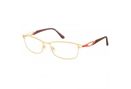 Lunettes de vue pour femme SEIKO Or T6501 13A 55/16