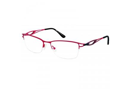 Lunettes de vue pour femme SEIKO Rouge T6502 49A 54/17