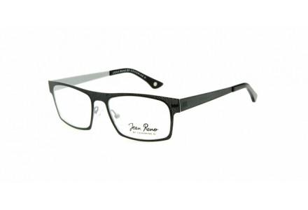 Lunettes de vue mixte JEAN RENO Noir RENO 1366 C2 53/18