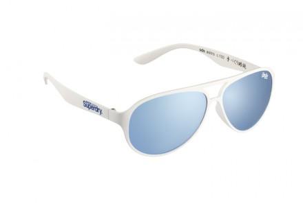 Lunettes de soleil mixte SUPERDRY Blanc SDS ASTRO 100 58/13