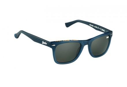 Lunettes de soleil mixte SUPERDRY Bleu SDS SAN 106 52/21