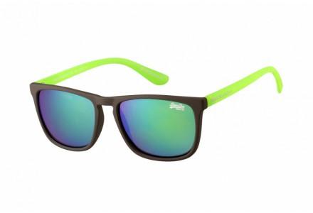 Lunettes de soleil mixte SUPERDRY Vert SDS SHOCkWAVE 108