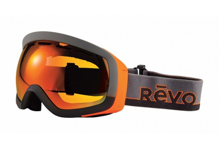 Masque de ski mixte REVO Orange 35-7000 col 00POG