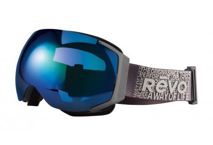 Masque de ski mixte REVO Gris 35-7008 col 00PBL