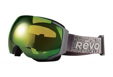 Masque de ski mixte REVO Gris 35-7008 col 00PGN