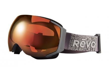 Masque de ski mixte REVO Gris 35-7008 col 00POG
