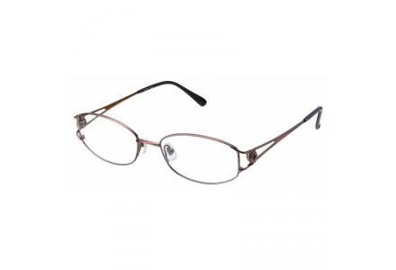 Lunettes de vue pour femme SEIKO Marron T3029 B54 5218