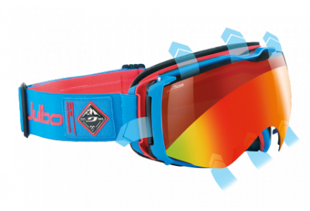 Masque de ski mixte JULBO Bleu AEROSPACE Bleu SNOWTIGER
