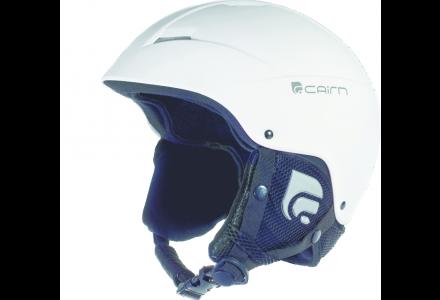 Casque de ski mixte CAIRN Blanc ANDROID Blanc Mat 57/58