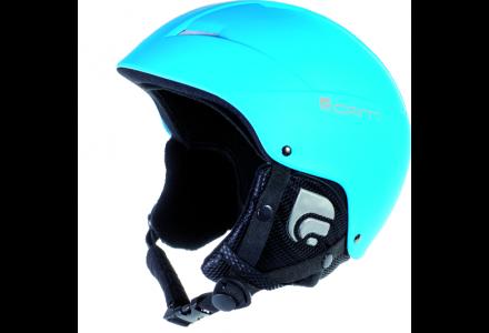 Casque de ski mixte CAIRN Bleu ANDROID Turquoise Fluo Mat 57/58