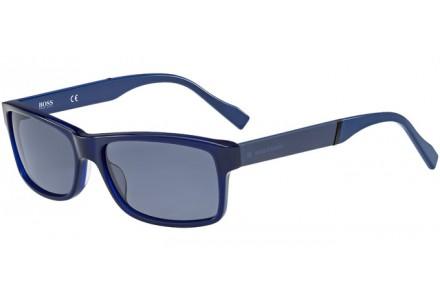 Lunettes de soleil pour homme BOSS ORANGE Bleu BO 0158/S 6TQ KU 58/17