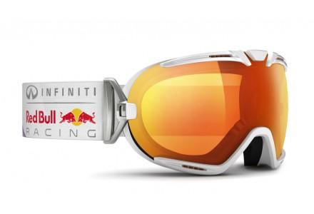 Masque de ski mixte RED BULL Blanc BOAVISTA FIRE RACE 003S