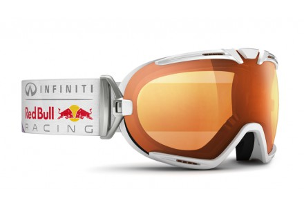 Masque de ski mixte RED BULL Blanc BOAVISTA SUN RACE 004S