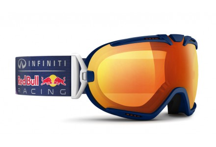 Masque de ski mixte RED BULL Bleu BOAVISTA FIRE RACE 009S