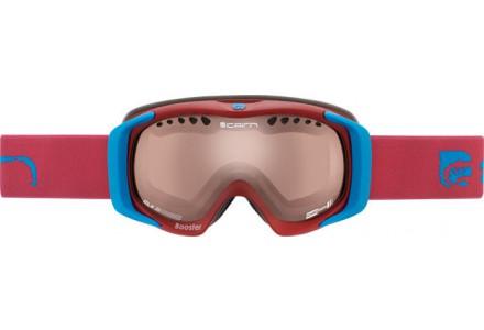 Masque de ski pour enfant CAIRN Bleu BOOSTER Fuchsia Mat/Bleu Mat CMAX