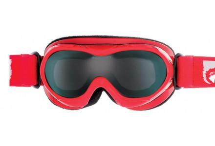 Masque de ski pour bébé CAIRN Rouge BUG Rouge Brillant