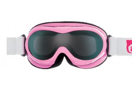 Masque de ski pour bébé CAIRN Rose BUG Rose Brillant