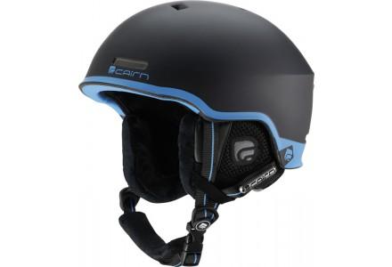 Casque de ski mixte CAIRN Noir Mat CENTAURE Noir Mat Bleu 54/56
