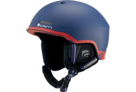 Casque de ski mixte CAIRN Bleu CENTAURE Mat Patriote 54/56