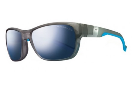 Lunettes de soleil mixte JULBO Bleu Coast Gris / Bleu Polarized 3+