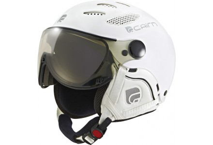 Casque de ski mixte CAIRN Blanc COSMOS CHROMAX Mat Total Blanc 53/55