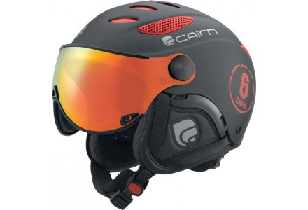Casque de ski mixte CAIRN Noir Mat COSMOS FIRE Noir Mat 55/57
