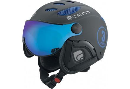 Casque de ski mixte CAIRN Noir Mat COSMOS FIRE Noir Mat 61/64