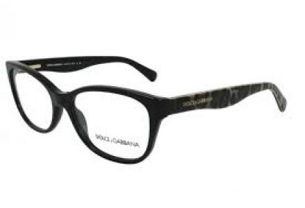 Lunettes de vue pour femme DOLCE GABBANA Noir DG 3136 2525 53/16