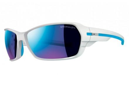 Lunettes de soleil mixte JULBO Blanc Dirt 2.0 Blanc Brillant / Bleu Spectron 3CF