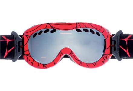Masque de ski pour enfant CAIRN Rouge DROP Araignee SPX 3000