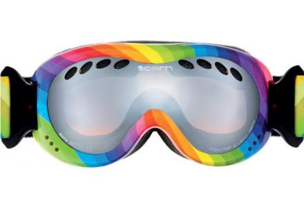 Masque de ski pour enfant CAIRN Violet DROP Arc En Ciel SPX 3000
