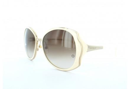 Lunettes de soleil pour femme MONT BLANC Blanc MB 416 S 25F 58/17