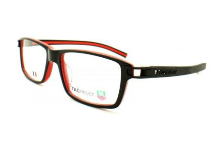 Lunettes de vue pour homme TAG HEUER Noir TH 7601 001 56/17 REFLEX FOLD