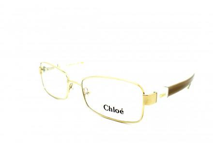 Lunettes de vue pour femme CHLOE Or CE 2106 717 53/17