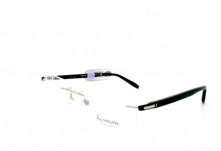 Lunettes de vue pour homme FACONNABLE Noir FP 2226 PA10 53/18