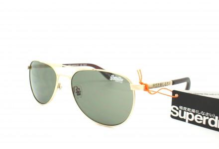 Lunettes de soleil mixte SUPERDRY Or SDS WARRIOR-001