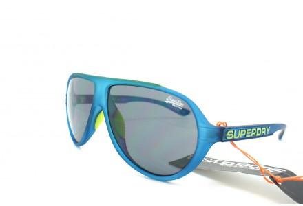 Lunettes de soleil mixte SUPERDRY Bleu SDS MOTORX -105