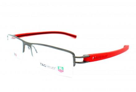 Lunettes de vue pour homme TAG HEUER Rouge TH 7623 010 TRACK S