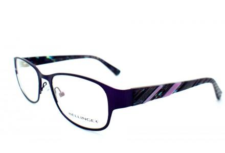 Lunettes de vue mixte BELLINGER Violet NANNA C61 49/18
