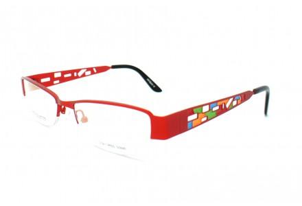 Lunettes de vue pour femme CHEZ COLETTE Rouge FS-9416 C2 53/18