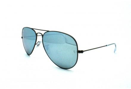 Lunettes de soleil mixte RAY BAN Bleu RB 3025 AVIATOR 029/30 55/14