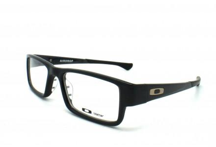 Lunettes de vue pour homme OAKLEY Noir OX 8046-02 AIRDROP 53/18