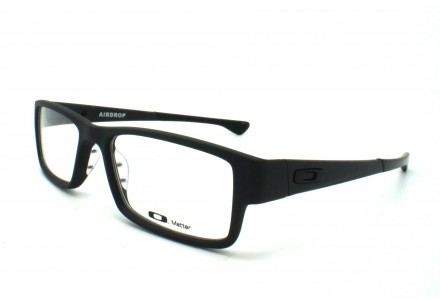 Lunettes de vue pour homme OAKLEY Noir Mat OX 8046-01 AIRDROP 53/18