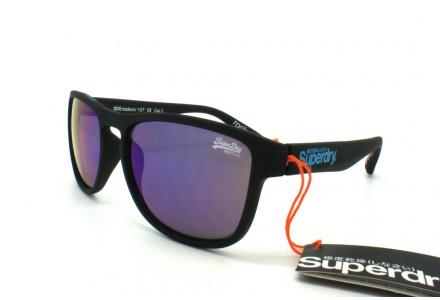 Lunettes de soleil mixte SUPERDRY Noir SDS ROCKSTAR-127 54/17
