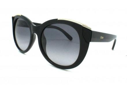 Lunettes de soleil pour femme CHLOE Noir CE 660R 001 55/19