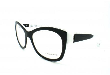 Lunettes de vue pour femme ALAIN MIKLI Noir Blanc AO 1400 3074 59/17