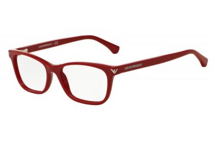 Lunettes de vue pour femme EMPORIO ARMANI Rouge EA 3073 5456 52/16
