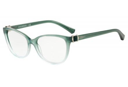 Lunettes de vue pour femme EMPORIO ARMANI Vert EA 3077 5460 54/16