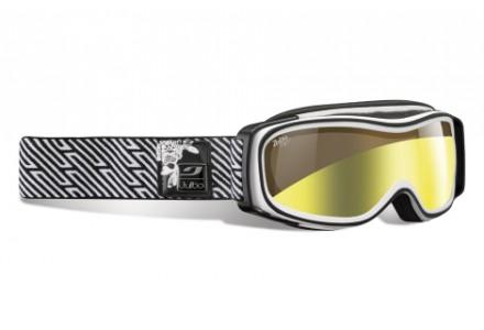 Masque de ski pour femme JULBO Blanc ECLIPSE Blanc/Noir Zebra Light